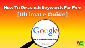 How To Research Keywords For Free