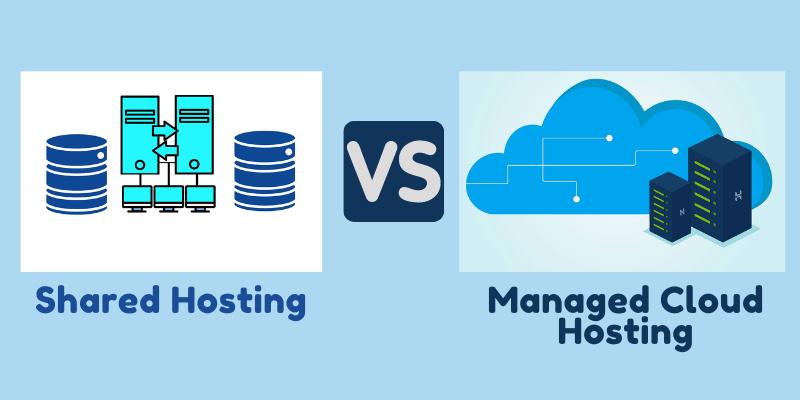 Shared Hosting Vs Managed Cloud Hosting.